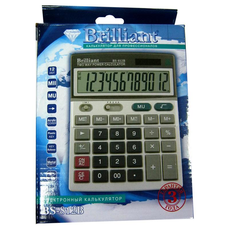 Калькулятор Brilliant BS-812 12 разрядный