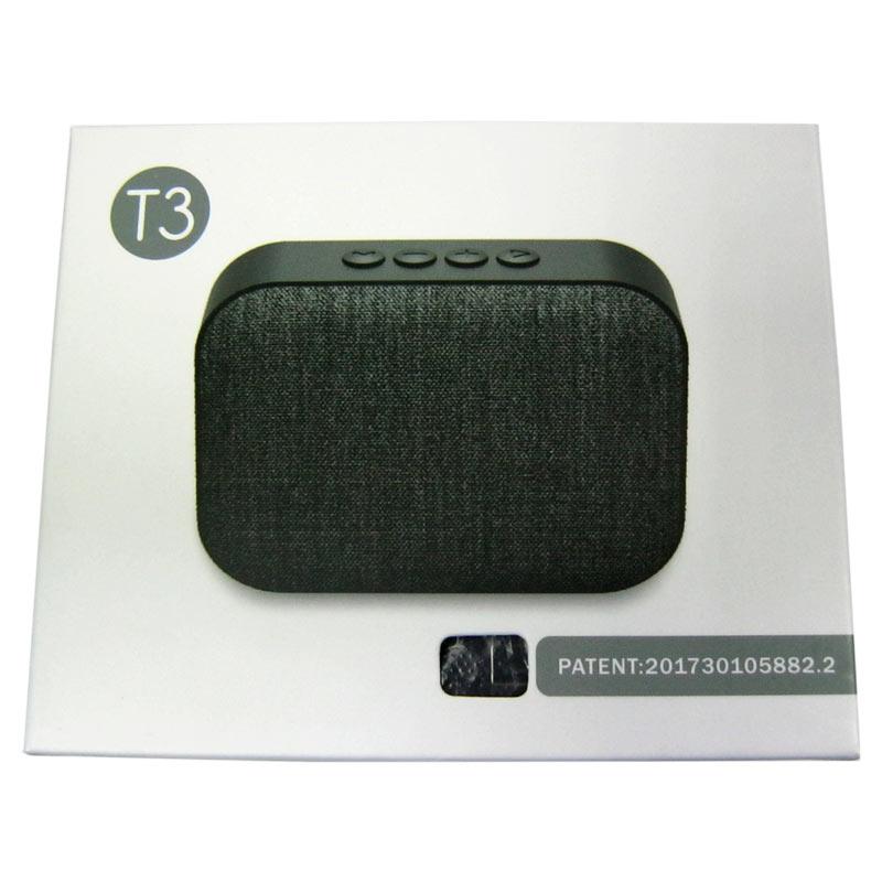 Портативная колонка Bluetooth Т3(Распродажа) (USB;microSD)