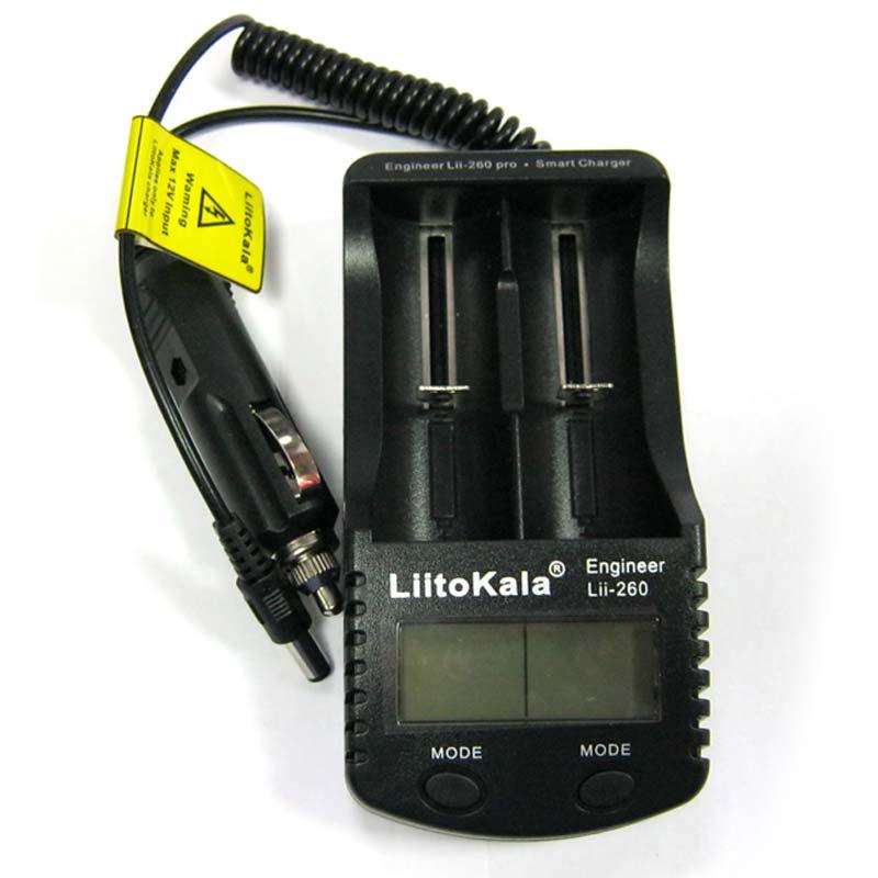 Зарядное устройство для Li-ion;Ni-Mh аккум. LiitoKala Lii-S2(на 2шт) 5V/2A
