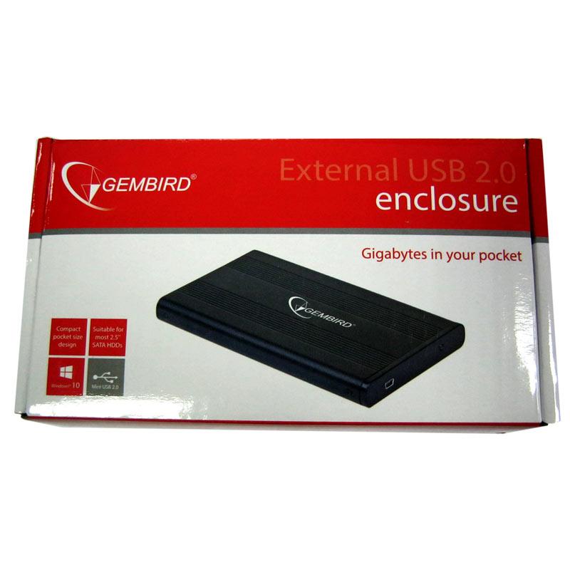 Карман Gembird EE2-U2S-5 для 2.5 SATA на USB 2.0