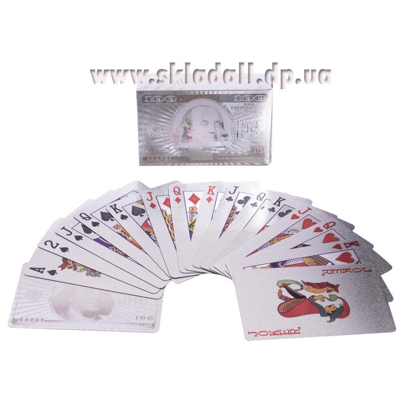 Карты игральные Silver Dollar , Plastic