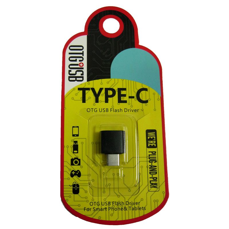 Переходник microUSB -Type-C (блистер)
