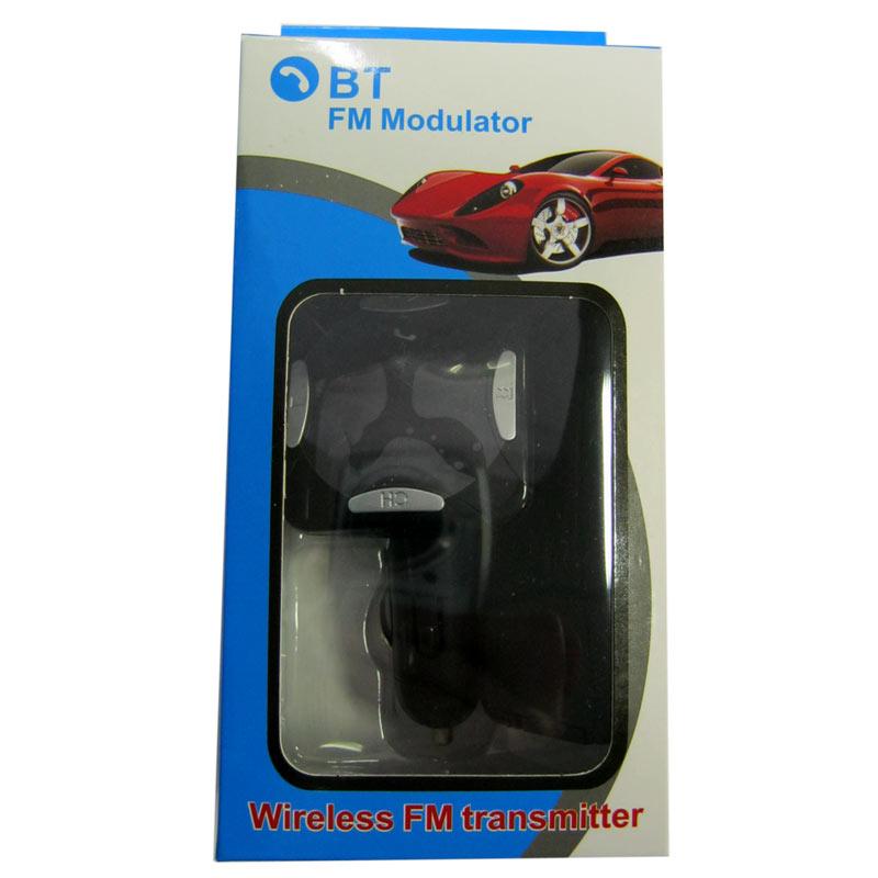 FM модулятор для автомобиля BT AUX Carg6;S17+bluetooth