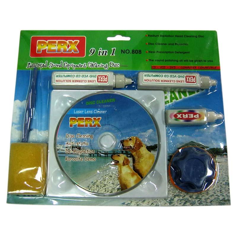 Чистящий диск VА-84 для CD/DVD приводов(набор 9 в 1)