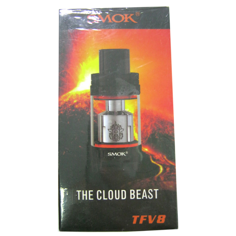 Атомайзер RTA+RBA Smok TFV8 (обслуживаемый)