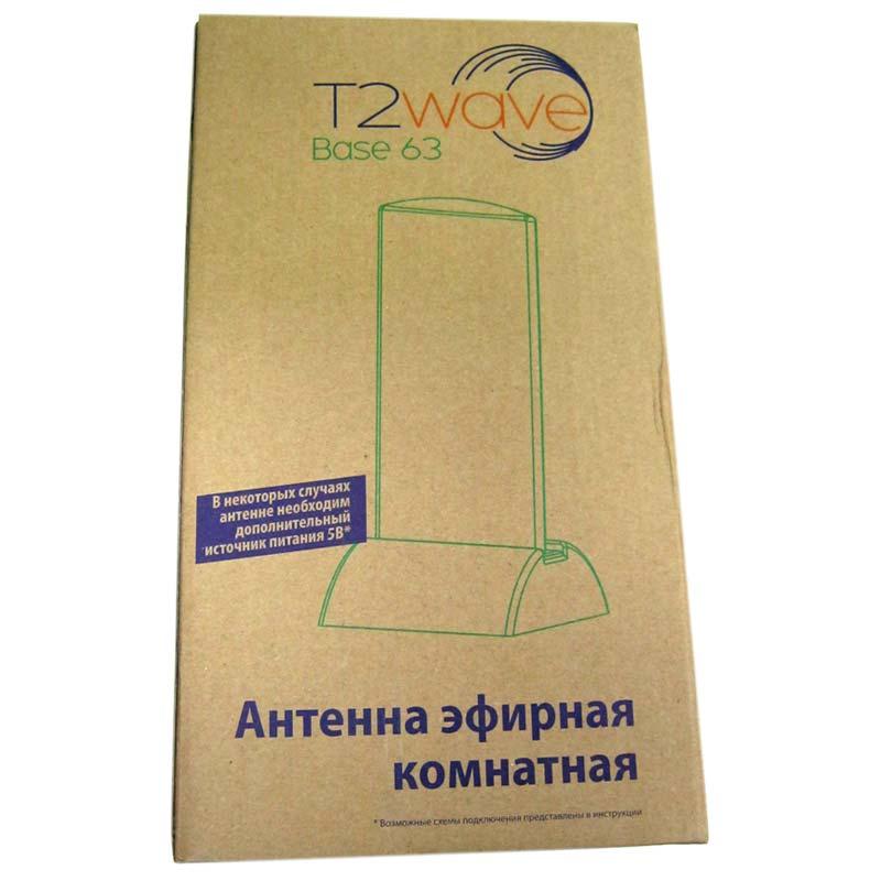 Антенна комнатная T2Wave Base63 20Дб (DVB-T/T2)