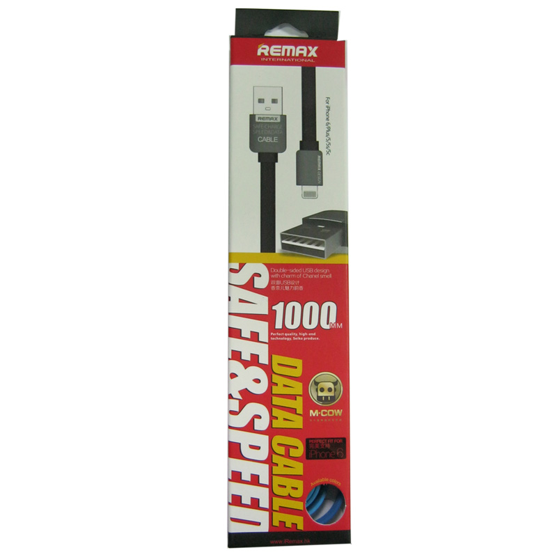 Кабель Lighting-USB REMAX KingKong Fast Original 1,0м , 2,1А