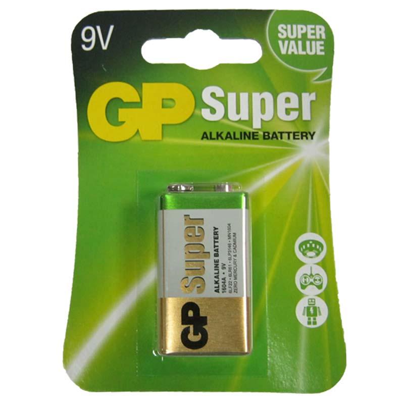 Батарейка крона 6LF22 GP 1604А-5UE1 Super blister