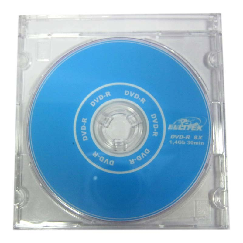 Диск mini DVD-R Ellitex 1,4Gb -4x Slim
