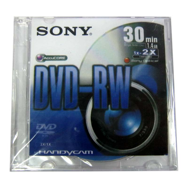 Диск mini DVD-RW SONY 1,4Gb/30min 4x box