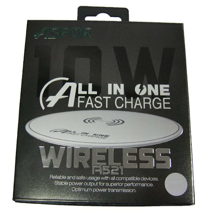 Беспроводное зарядное устройство ASPOR A521 Wireless; 5V/2,0A