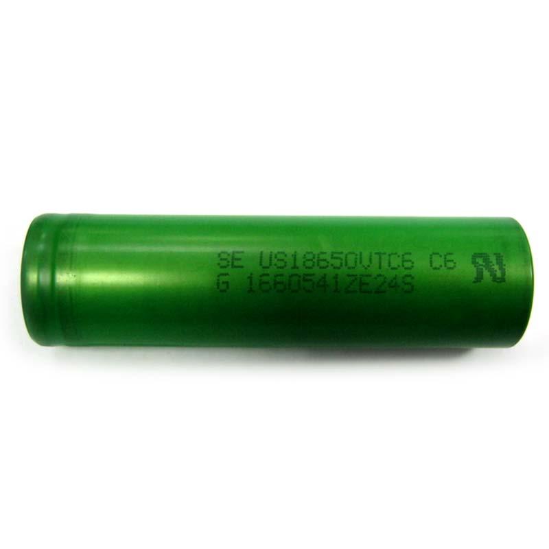 Аккумулятор литиевый 18650 SONY US18650VTC6 3120mAh (ток до 30А)Япония 3.7V Li-ion