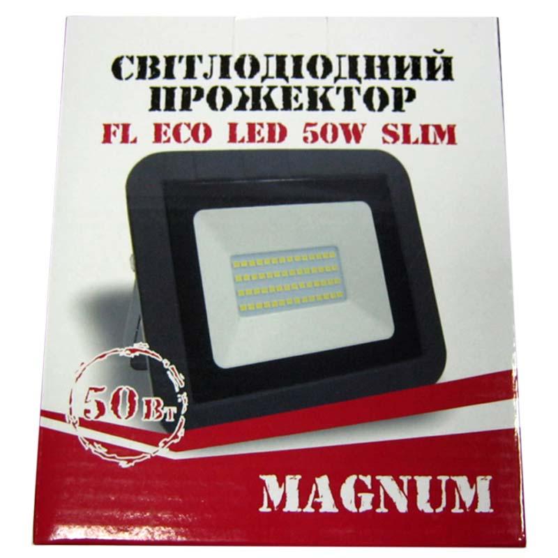 Прожектор светодиодный MAGNUM 50W ECO LED 6500K Slim