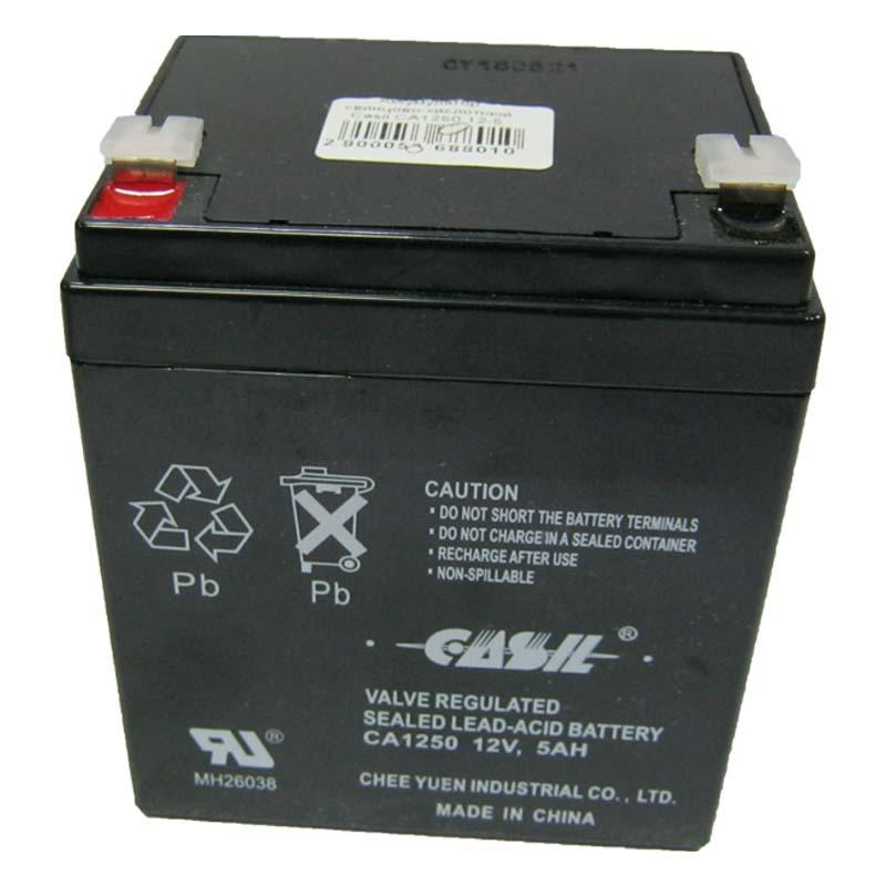 Аккумулятор свинцово-кислотный Casil CA1250 12-5 (12V,5.0Ah)