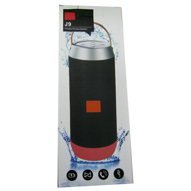 Портативная колонка Bluetooth JBL J9(Распродажа)(LED;аккумулятор;FM;USB;microSD)