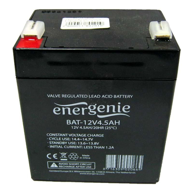 Аккумулятор свинцово-кислотный Energenie 12V-4,5Ah