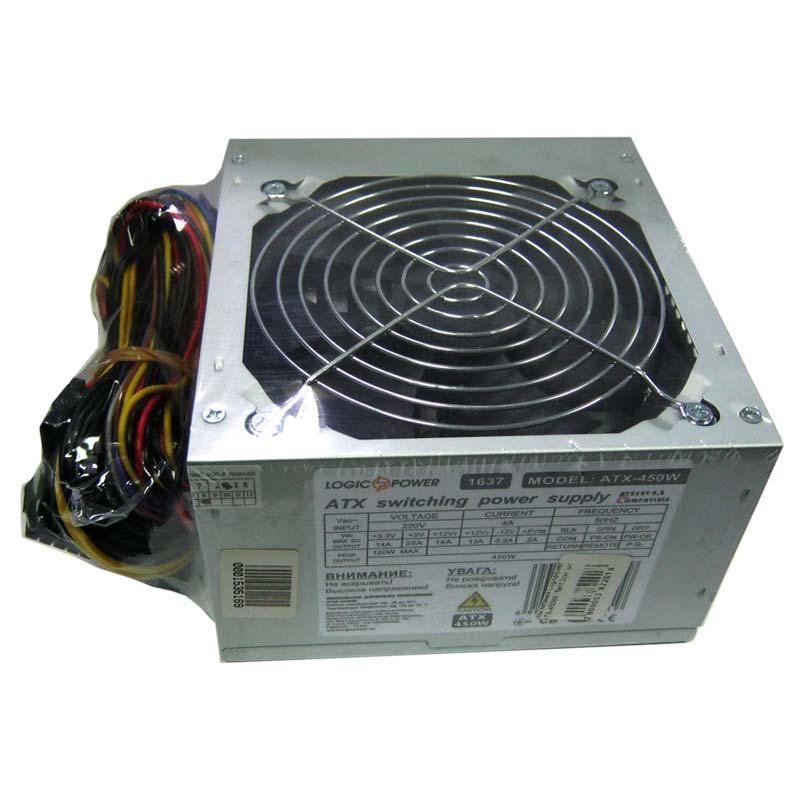 Блок питания Logicpower ATX-450W fan12см