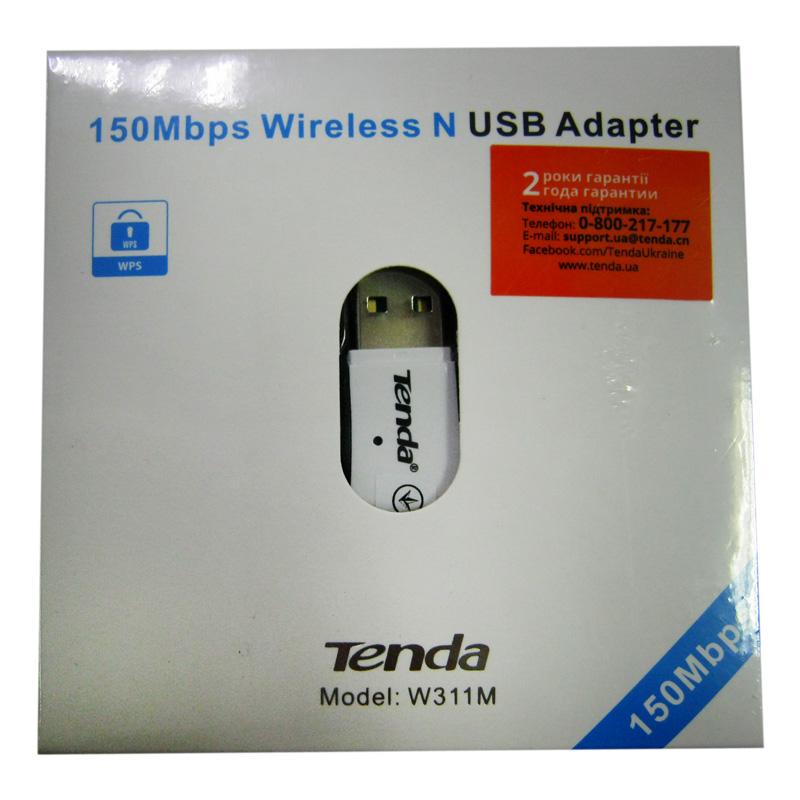Беспроводный адаптер Tenda W311M 150Mbps Wireless USB adapter