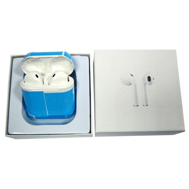 Bluetooth гарнитура BT ifans Airpods white с кейсом