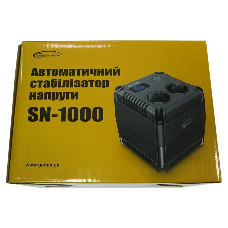 Стабилизатор Gemix SN-1000 (700W);(123x123x120mm)