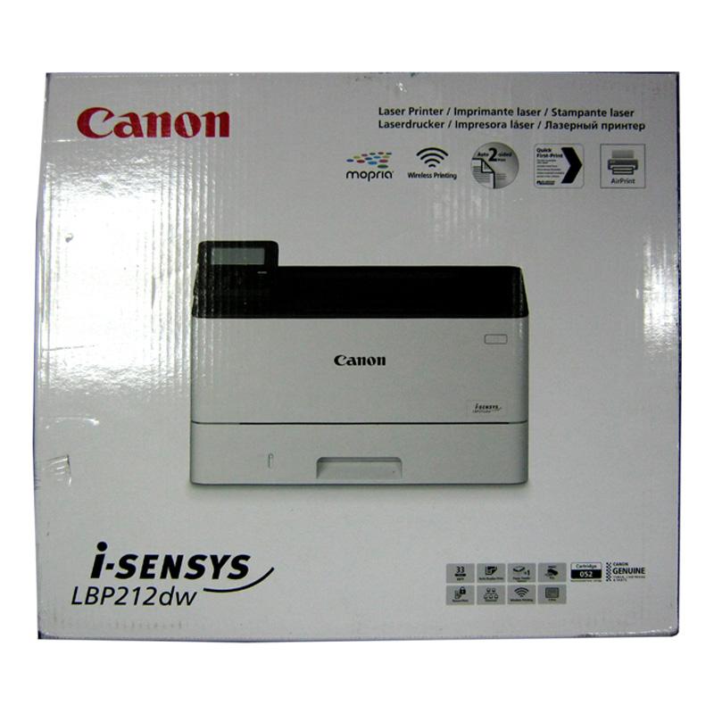 Принтер лазерный CANON i-SENSYS LBP-212dw (WiFi;дуплекс)