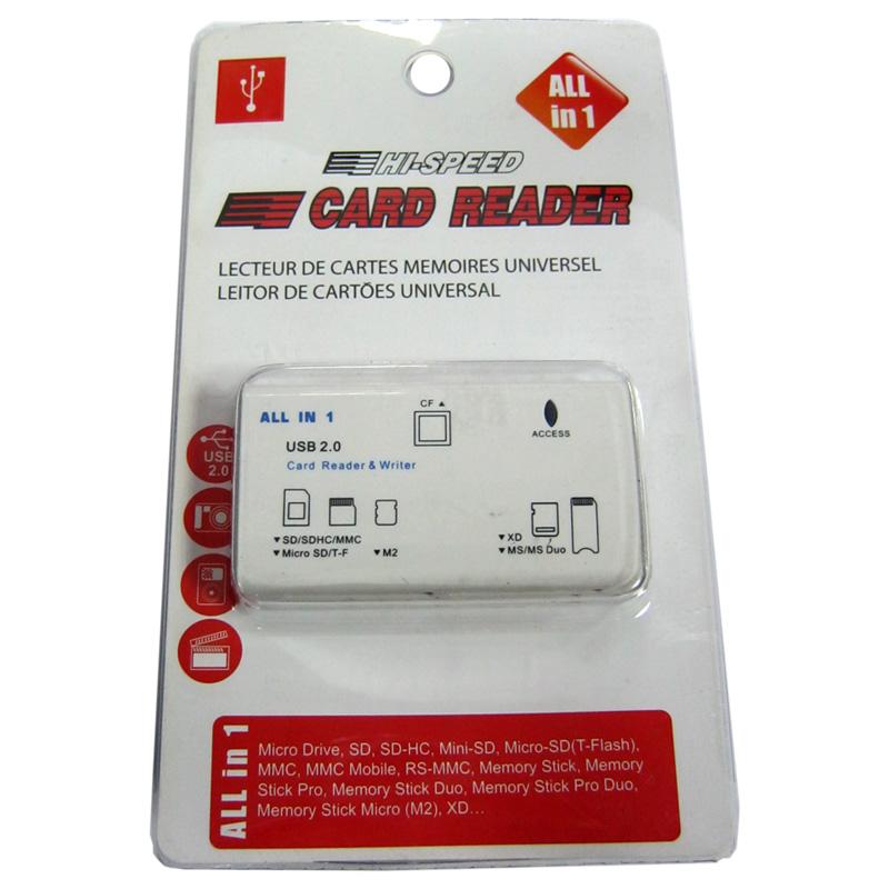 Кардридер ATcom TD2051(SD;M2;microSD;MS;XD;CF)