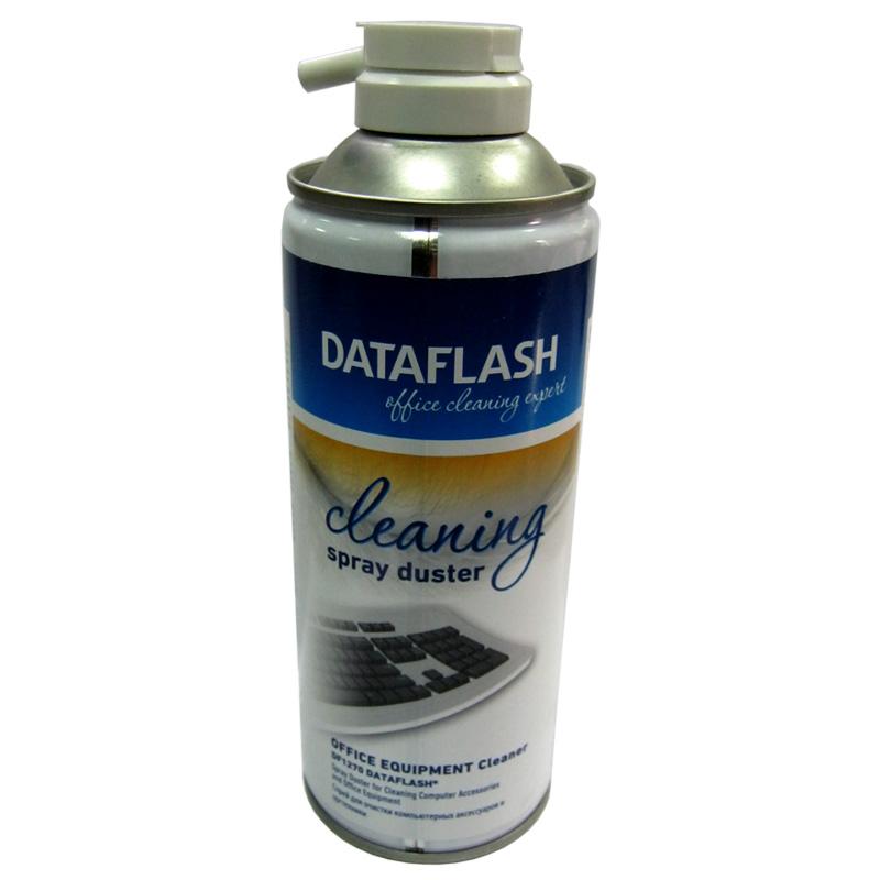 Чистящий сжатий воздух DataFlash DF1270 400мл, холодный