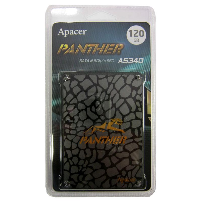 Жесткий диск SSD ApacerAS350 PANTHER 120Gb;2.5