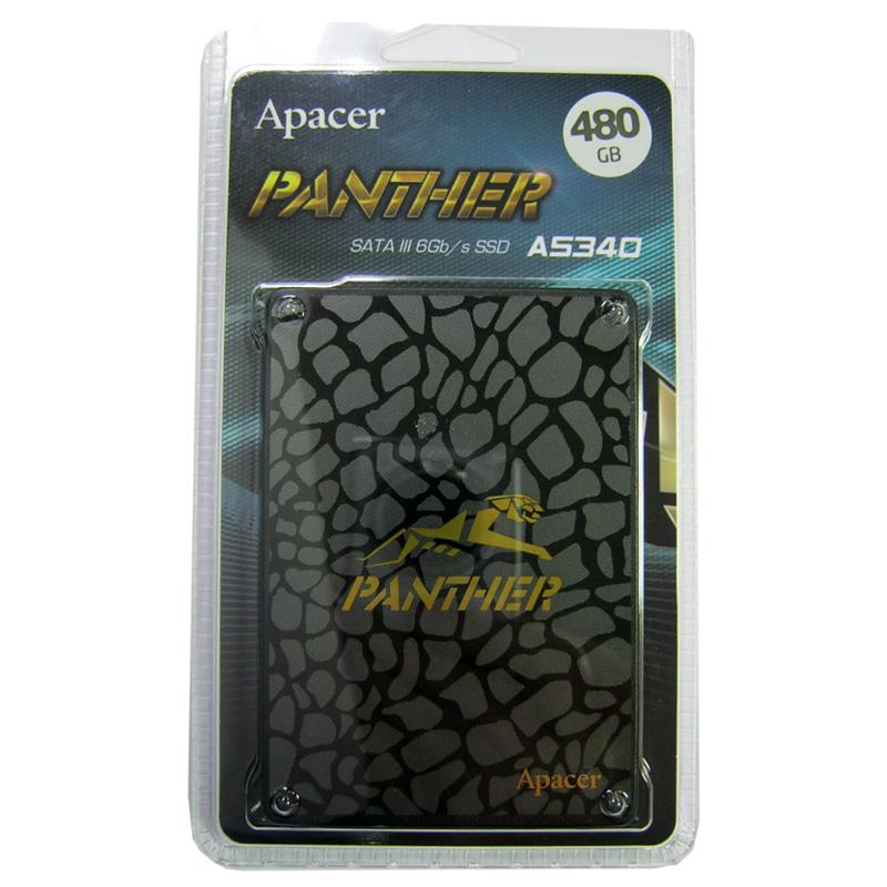 Жесткий диск SSD ApacerAS350 PANTHER 480Gb;2.5