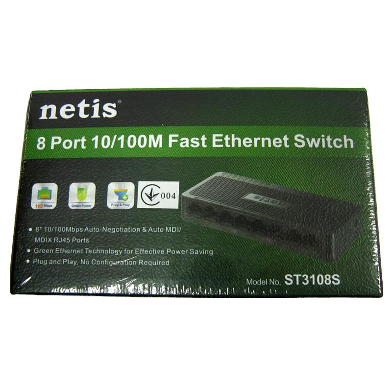 svitch-netis-st3108-switch-8-port-10-100m