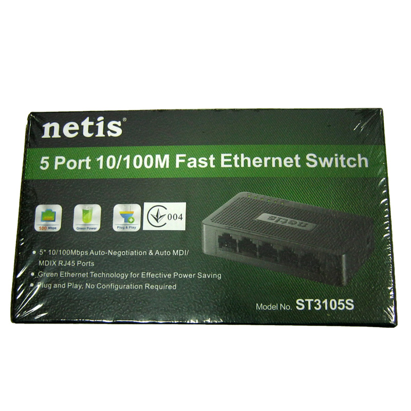 svitch-netis-st3105-switch-5-port-10-100m
