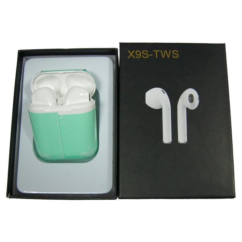 Bluetooth гарнитура BT iFANS i9S-TWS mini white с кейсом