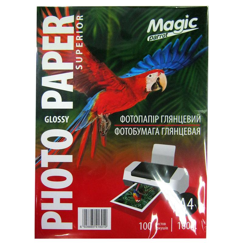 Фотобумага Magic A4 Glossy Photo Paper 100л 160г/м2 глянец