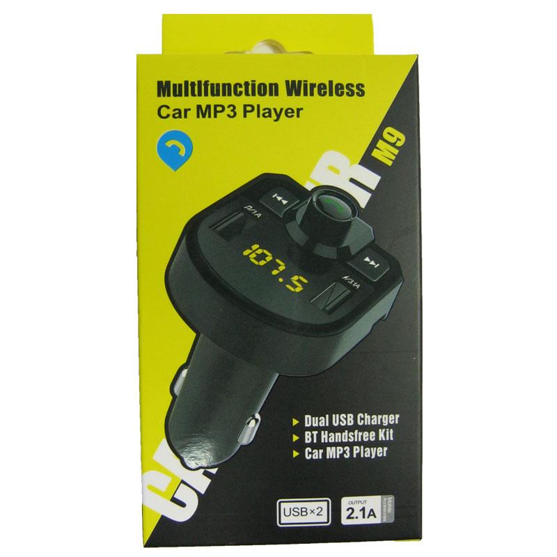 FM модулятор для автомобиля BT M9 + bluetooth