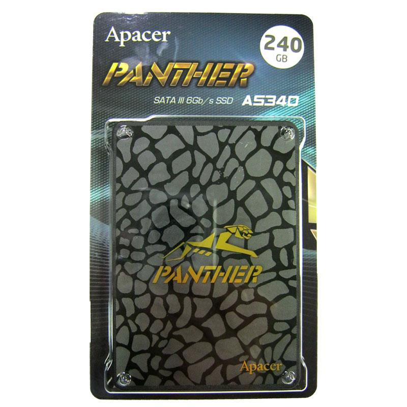 Жесткий диск SSD ApacerAS340 PANTHER 240Gb;2.5
