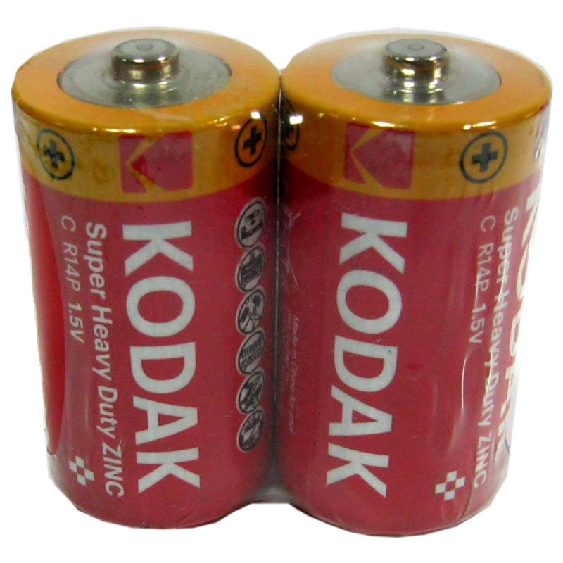 Батарейка R14 Kodak tray