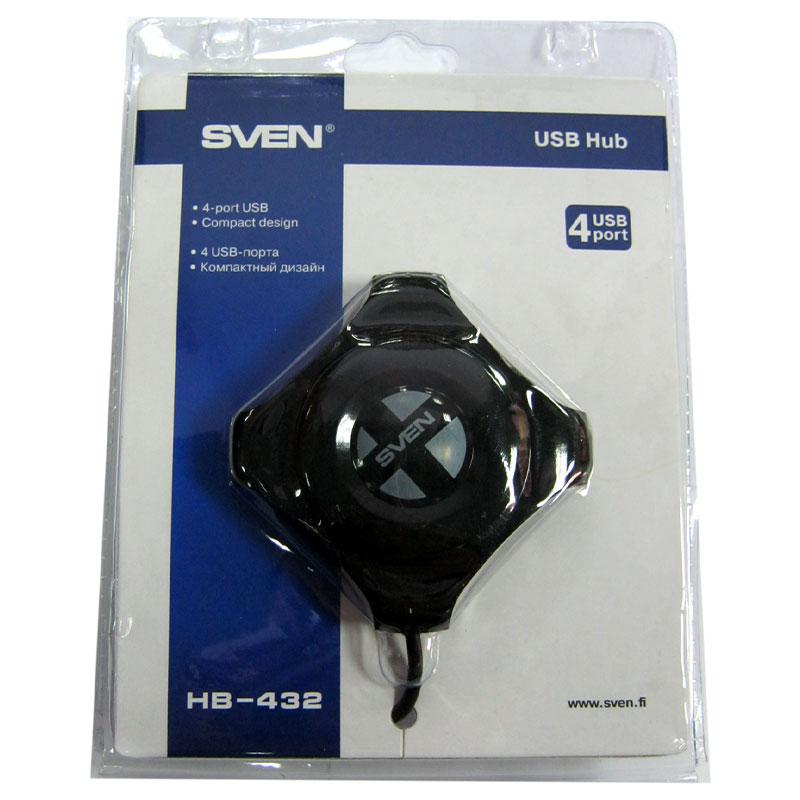 koncentrator-usb2-0-sven-hb-432-black-4port