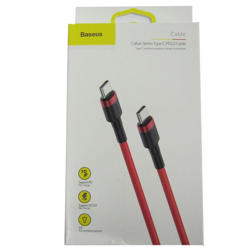 kabel-baseus-type-c-type-c-cafule-3-0a-2-0m-red