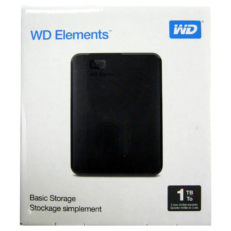 Портативный жёсткий диск HDD.1.0Tb WD Elements USB3.0 2.5