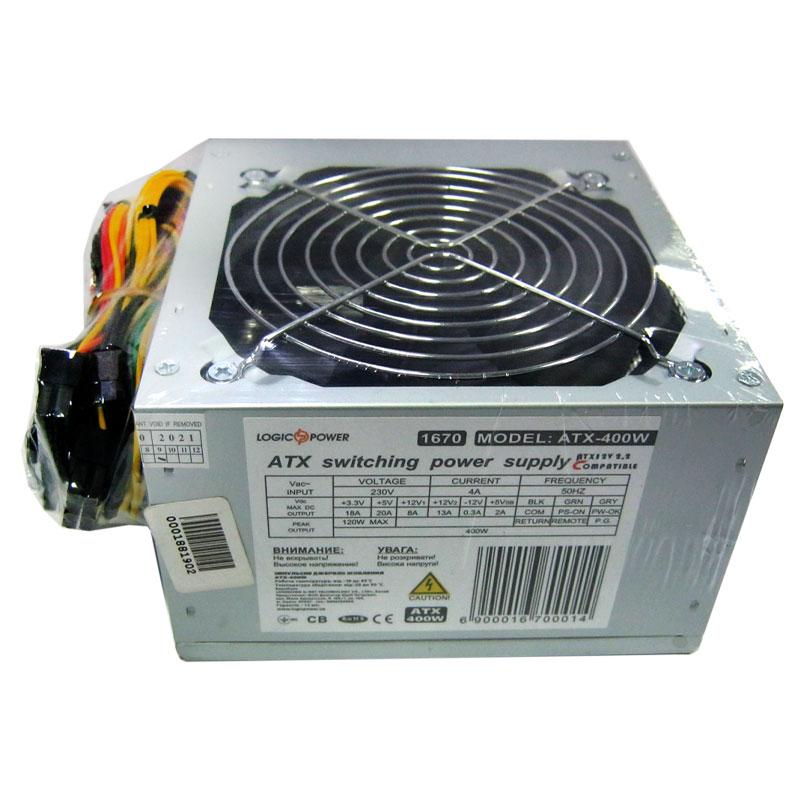 Блок питания Logicpower ATX-400W fan12см