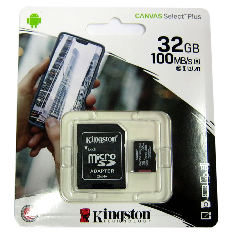 karta-pamyati-micro-sdhc32gb-kingston-canvas-a1-100mb-s-adapter-sd