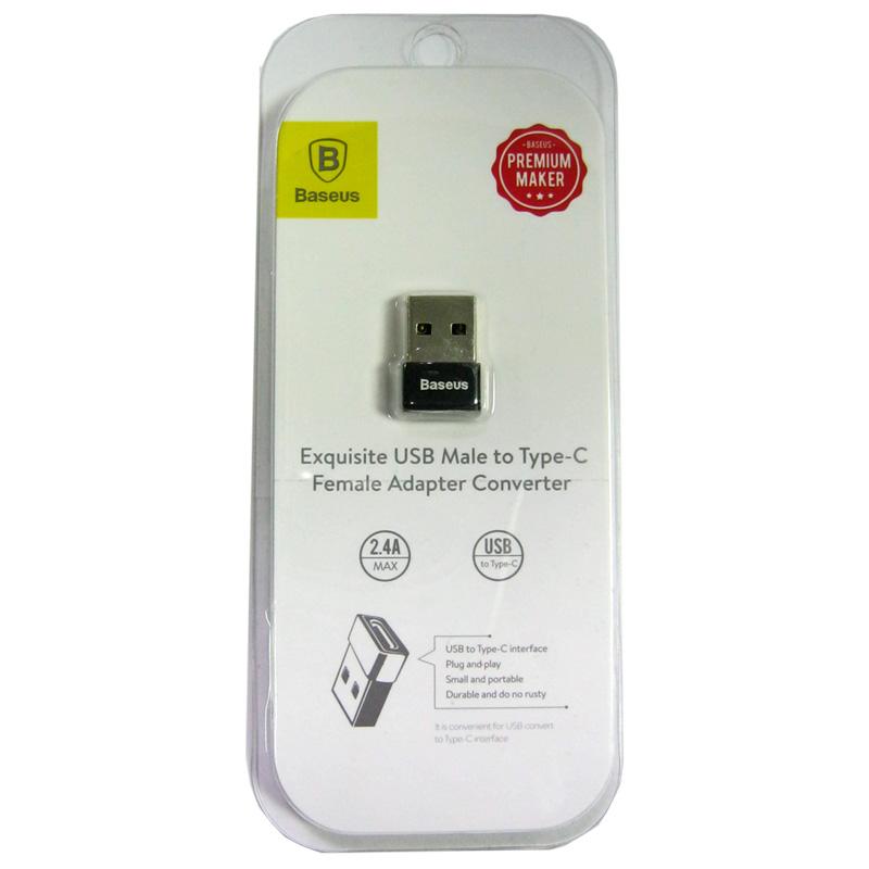 Переходник Baseus OTG USB (мама)-Type C (папа) CATJQ-А01