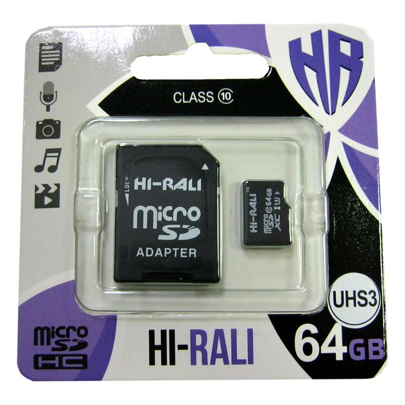 karta-pamyati-micro-sdxc-64gb-uhs-3-hi-rali-class10-adaptersd