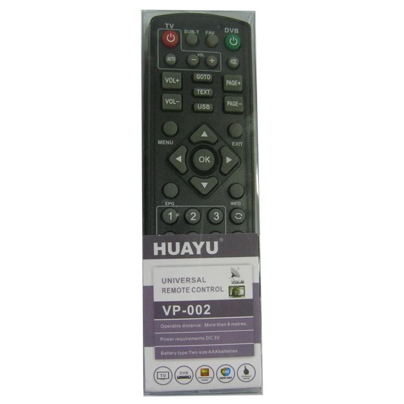 Пульт универсальный для T2 HUAYU VP-002+;VP-004+