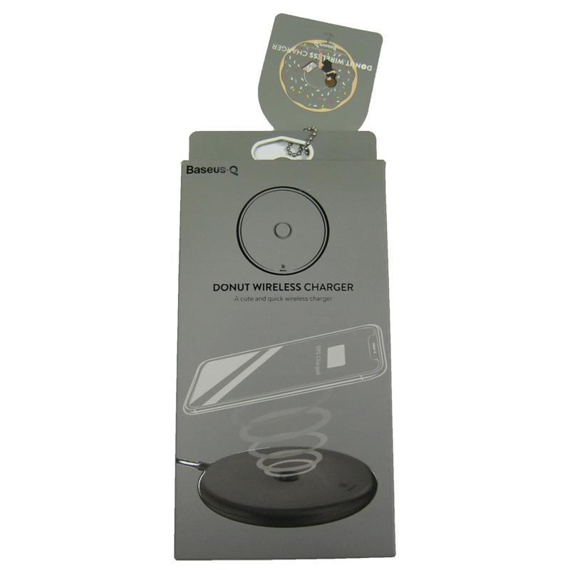 Беспроводное зарядное устройство Baseus Digital Led Wireless 10W + кабель lighting