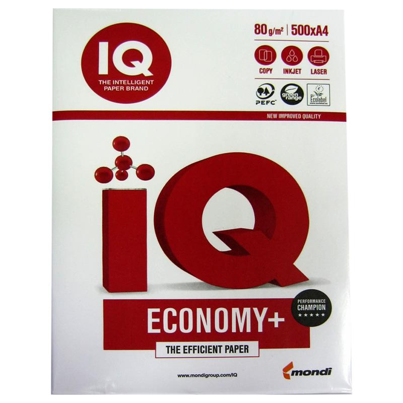 Бумага офисная A4 Mondi IQ Economy+ 80 г/m2 (500 листов)