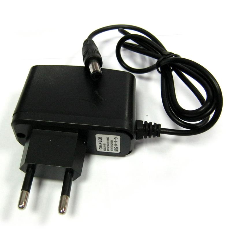 Адаптер питания 5V-0,8A 5,5мм SH-098(4,2V;800mA)для подзарядки фонарей с Li-ion аккумуляторами