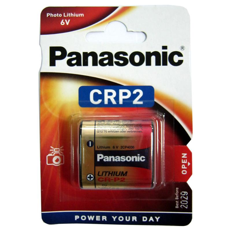 Батарейка CR-P2 Panasonic , 6V ,Lithium (для сенсорных кранов,фотоаппаратов)