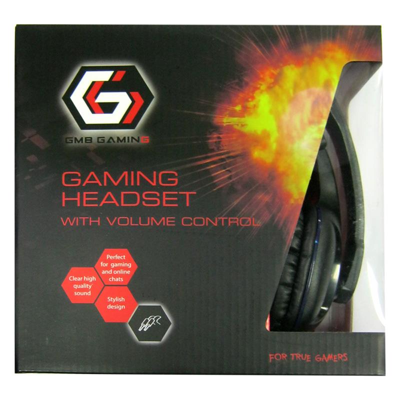 Наушники с микрофоном Gembird GHS-04,игровые