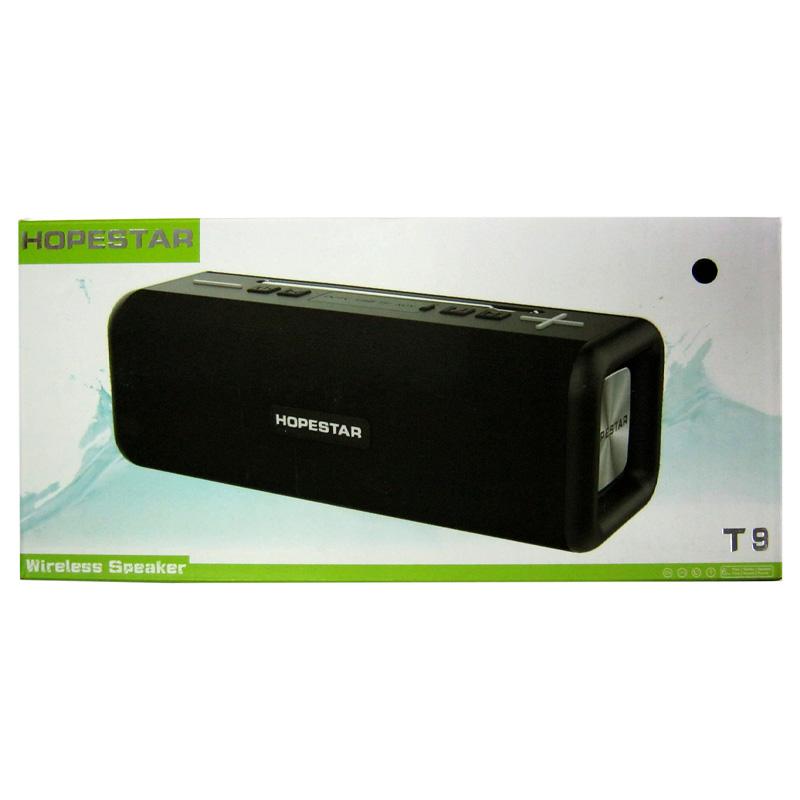 Портативная колонка Bluetooth HOPESTAR Т9(аккум,2дин.;FM;USB;microSD;антена)